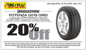 Tires-Plus-Coupon-Bridgestone-Potenza-G019-Grid